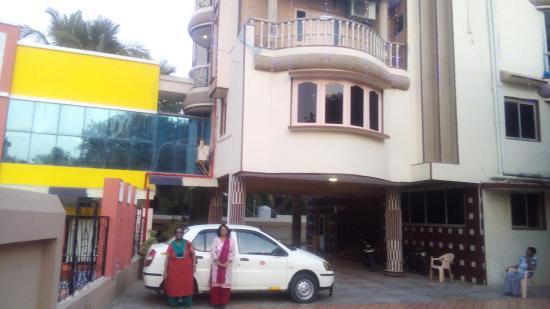 Hotel Cidade de Diu: Portico