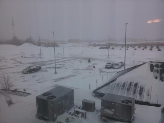 Superb Hilton Garden Inn Watertown/Thousand Islands: View During Winter Awesome Design