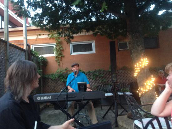 Darryl Day filling in for a song or two Summer 2015 - Picture of