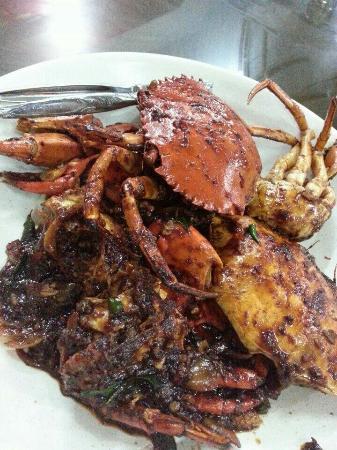 """Kam heong"" (in Cantonese) crab"
