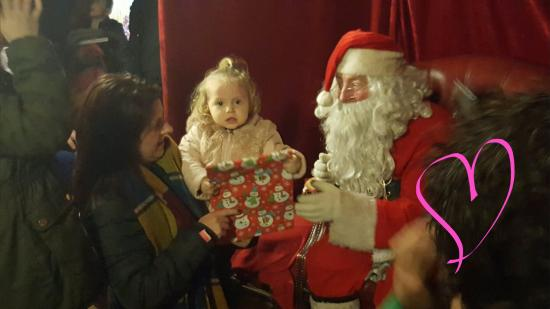 Ballygawley, UK: We had such a great time! Mrs Claus and the Wise Old Elf were fabulous . And such a laugh with S