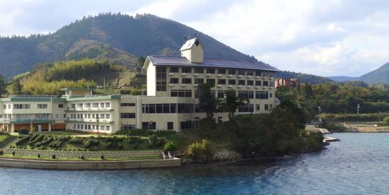 Marine Port Hotel Ama: Hotel from the ferry