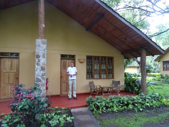 Arumeru River Lodge: ons huisje !