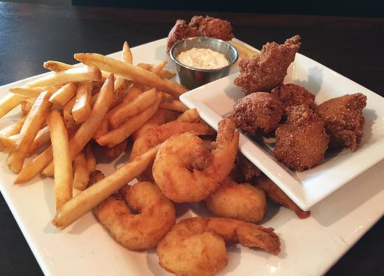 Eatonton, Geórgia: Fried Shrimp Platter