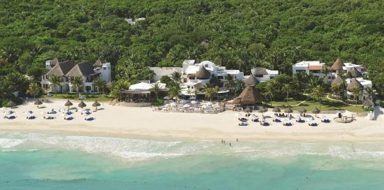 Playa Maroma, México: Welcome to Belmond Maroma Resort & Spa, a 63-room beachfront resort.