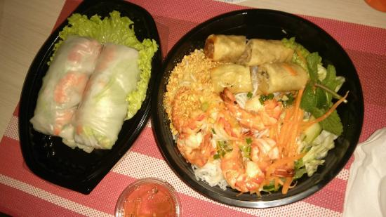 Bobun crevettes - Picture of Vietnam Kitchen, Courbevoie - TripAdvisor