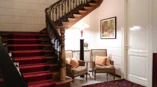 Hotel 't Sandt: Stairway