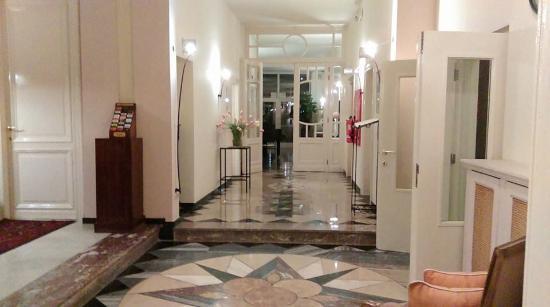 Hotel 't Sandt: Corridor