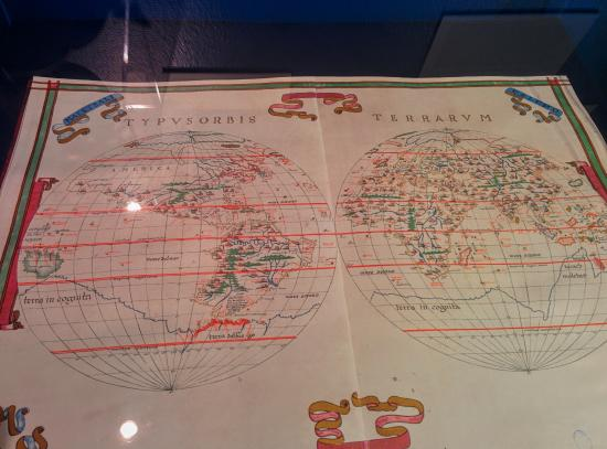 Grand Junction, CO: Map in the museum.