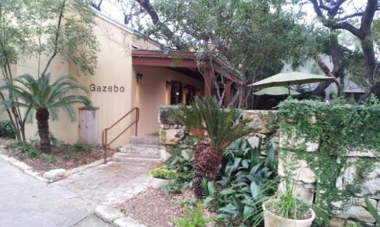 Gazebo At Los Patios: Gazebo Entrance