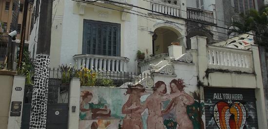 Casalegre Art Vila B&B - Santa Teresa: Façade
