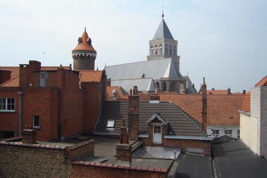 Hotel Cavalier: vista dos telhados antigos