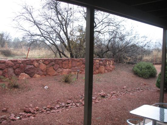 Adobe Village Inn: View from the rear of the room
