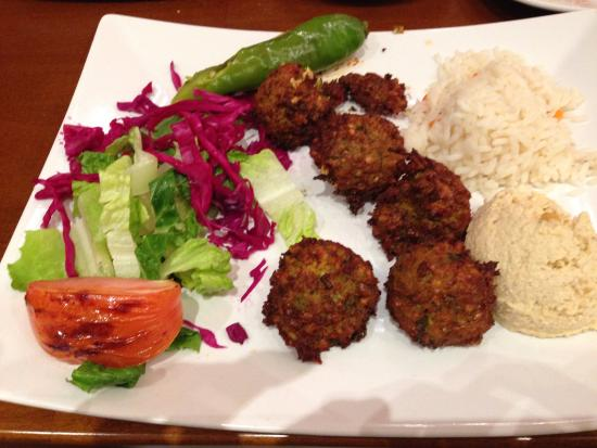 Flanders, NJ: falafel dinner