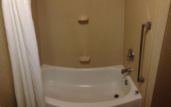 Holiday Inn Express Hotel & Suites - Veteran's Expressway: Bathtub