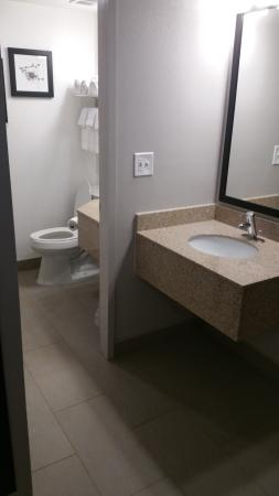 Country Inn & Suites By Carlson, St. Paul East: Bathroom