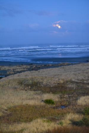Ocean Shores, WA: View from room 404