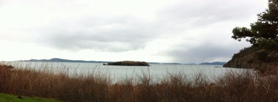 Oak Harbor, Waszyngton: View from Rosario Beach