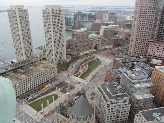 View From Observation Deck Picture Of Marriott Vacation Club Pulse At Custom House Boston Boston Tripadvisor