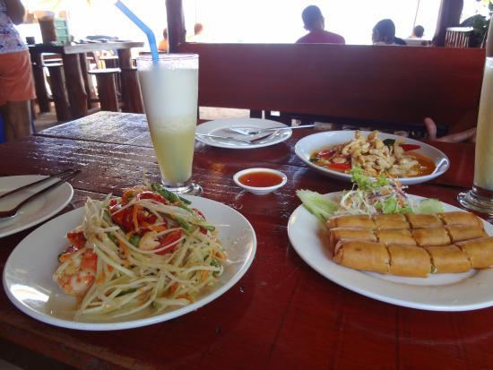 Salada tailandesa de papaia verde picture of jasmine for Jasmine cuisine