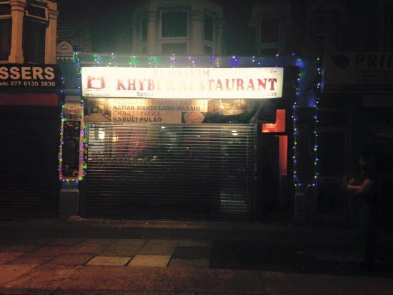 Khyber Restaurant London