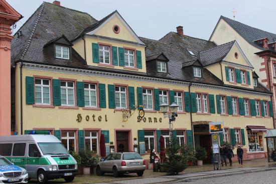 Restaurant Sonne: Restaurant im Hotel Sonne