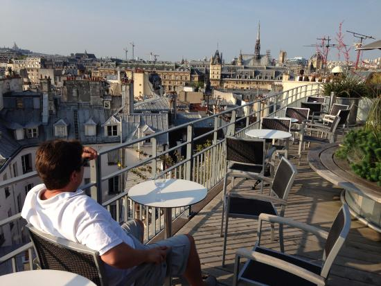 The best place to chill on the left bank picture of for Hotel notre dame paris