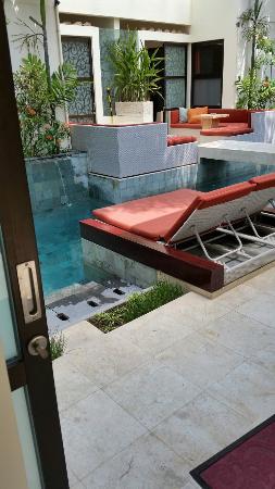 Bali Ginger Suites: 20151226_113452_large.jpg