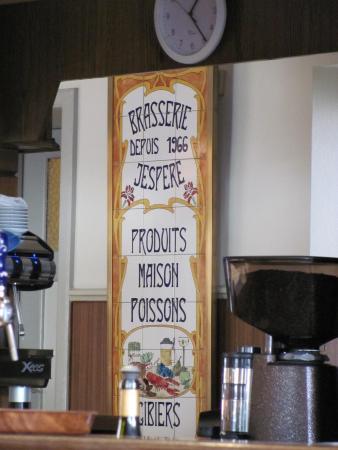 """Cafe Restaurant de la Paix: Restaurant """" Café de la Paix """" Chez Vincent J'Espére"""