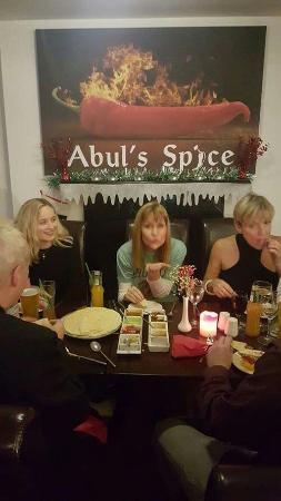 Corwen, UK: Abul's Spice