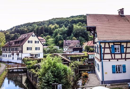 Egloffstein, Allemagne: Blick vom Balkon