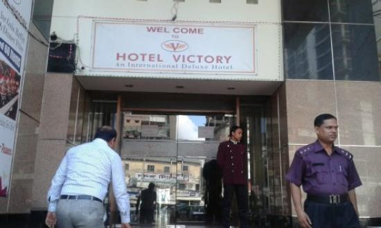 Hotel Victory front view