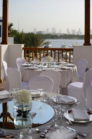 Park Hyatt Dubai: Traiteur Upper Outdoor Terrace
