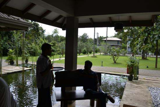 Fresco Water Villa: Reception