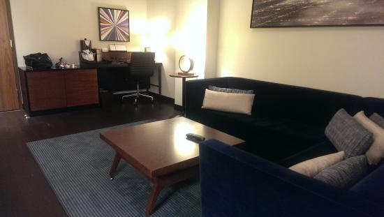 169 & Living room of the suite - love the stylish decor - Picture of Hyatt ...
