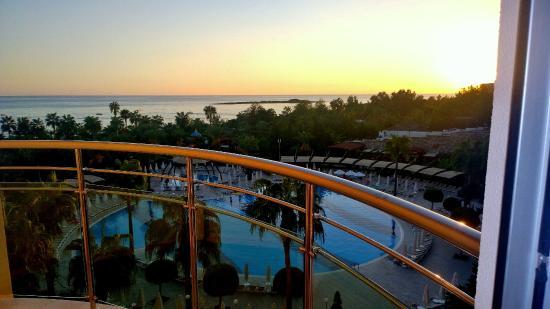 Saphir Resort & Spa: Blick vom Balkon