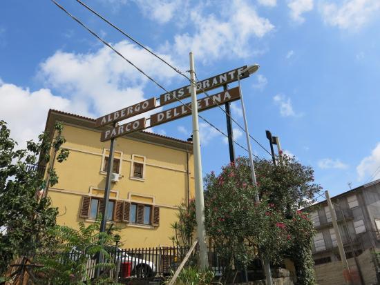 Parco dell'Etna: Вывеска
