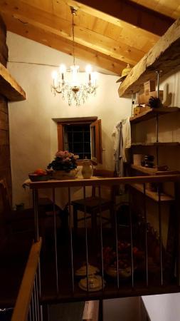 Albinen, Swiss: Inneansicht Eingang