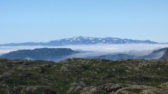 Lac Cornu: Опустились облака