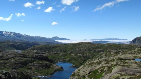 Lac Cornu: Вид в солнечную погоду