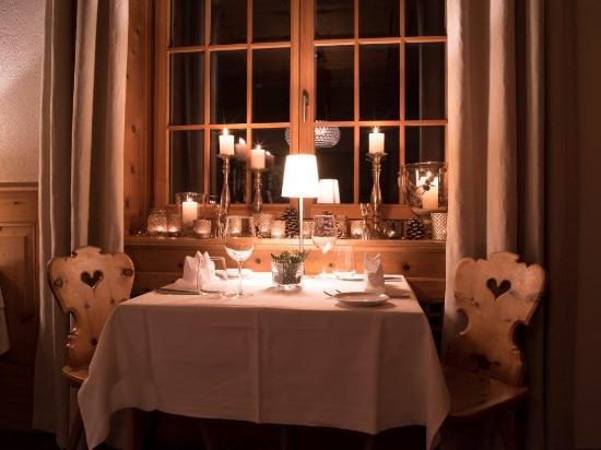 Hotel Edelweiss Davos : Speisesaal