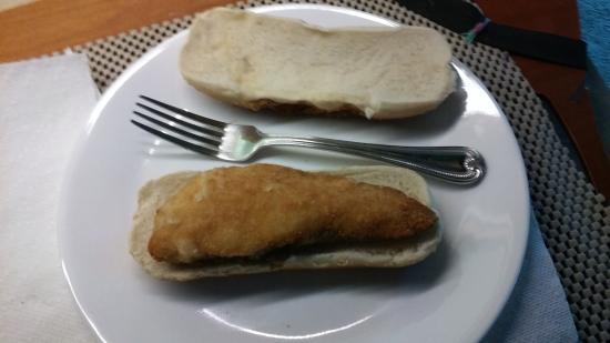 Liverpool, NY: Smallest Fish Sandwich ! *2.9 oz*