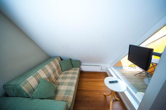 Hotel zum Hofmaler : Junior Suite (Wohnbereich)