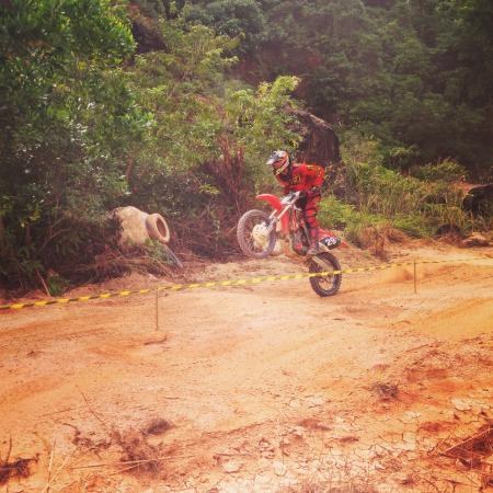 Motocross Phuket: Wheelie on the MX track in Phuket