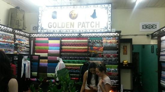 The Golden Patch Tailor