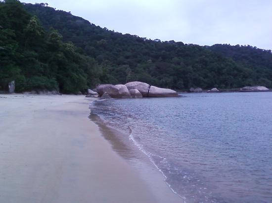 Itacurussa, RJ: meio da praia