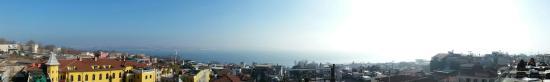Seven Hills Restaurant : Panorama Richtung Bosporus