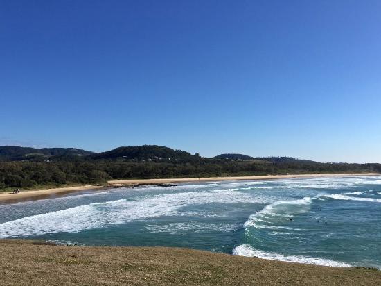 Lemon Tree Passage, Αυστραλία: Surf's up