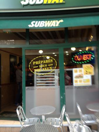 Subway Saint Paul