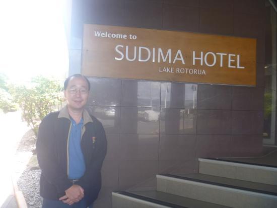 Sudima Hotel Lake Rotorua: Hotel entrance
